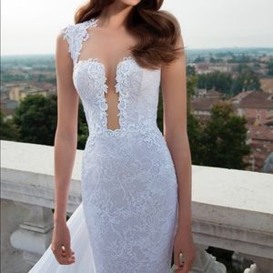 Berta designer luxury wedding dress gown NWT